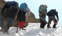 Terörden arındırılan dağlarda zirve tırmanışı