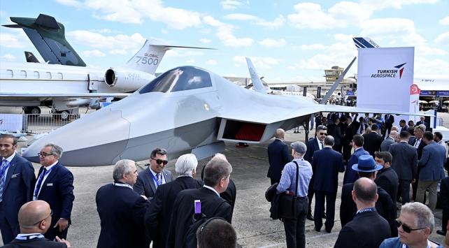 Milli Savaş Uçağımız Paris'te tanıtılıyor. ile ilgili görsel sonucu