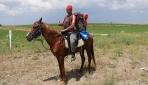 Vatani görevi için at sırtında yola çıkan Duman Yozgata ulaştı