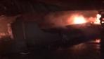 Tarsusta fabrika yangını