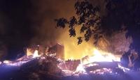 Yusufeli'nde çıkan yangında bir kişi öldü