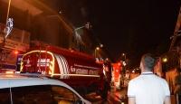 İstanbul'da iş yeri yangını