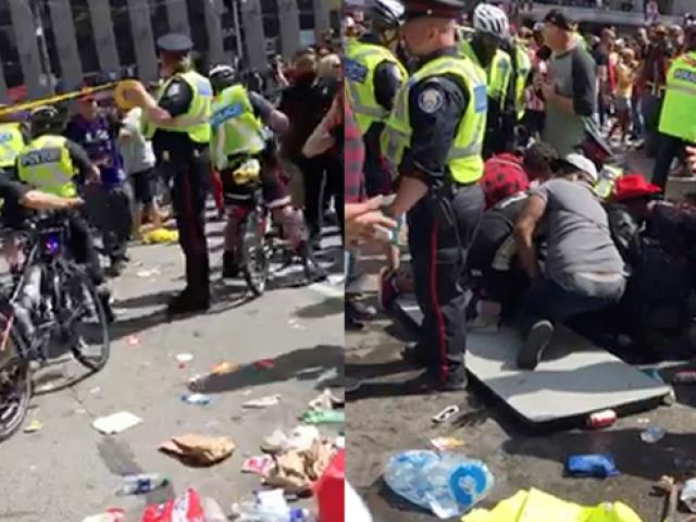 Toronto'da şampiyonluk kutlamalarında silah sesleri