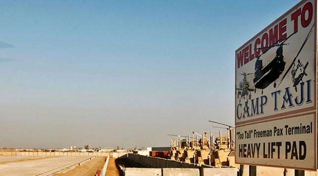 Bağdatta askeri kampa füze atıldı