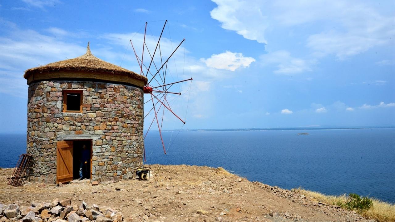 Bozcaada bin yıllık siluetine yeniden kavuşuyor