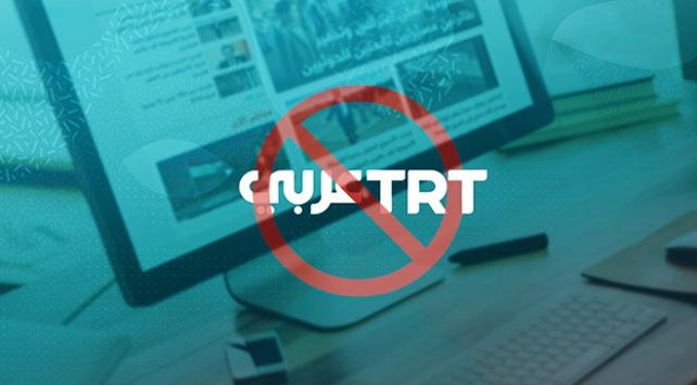 Mısır TRT Arapçanın internet sitesini engelledi