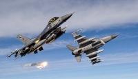 Hakurk'a hava harekatında terör hedefleri vuruldu