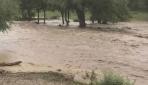 Kızılcahamamda aşırı yağış sele neden oldu