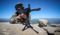 Güvenlik korucularına saldıran terörist etkisiz hale getirildi