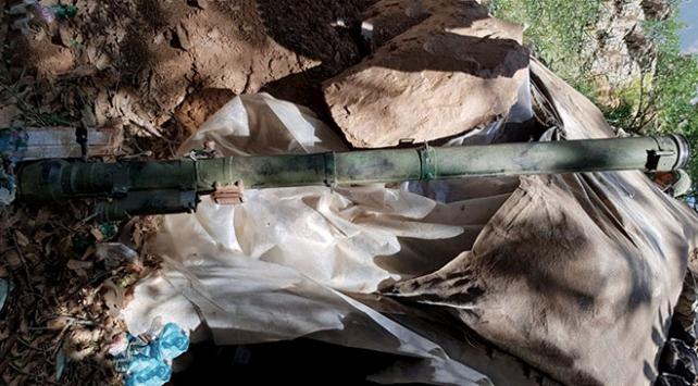 Pençe Harekatında teröristlere ait SA-14 portatif füze bulundu