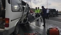 Anadolu Otoyolu'ndaki zincirleme kaza ulaşımı aksattı