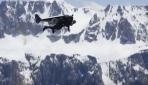 """""""Jet Adam"""" Alplerin üzerinde uçtu"""