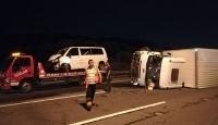Kocaeli'de trafik kazası: 10 yaralı