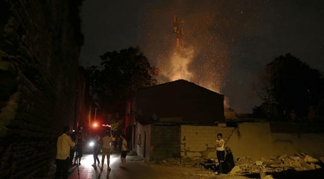 Fatihte gecekondu yangını: 1 ölü, 1 yaralı