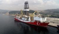 İkinci sondaj gemimiz Akdeniz'e açıldı