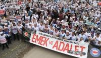Memur-Sen'den 'Emek ve Adalet Yürüyüşü'ne destek