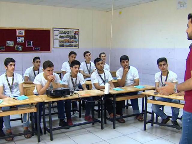 TRT'nin deneyimli çalışanları Suriyeli gençlerle bir araya geldi