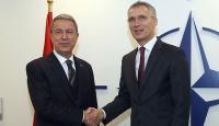 Bakan Akar NATO Genel Sekreteri ile görüştü