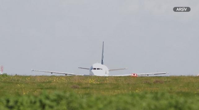 Uluslararası Mitiga Havaalanı'nda uçuşlar yeniden başladı