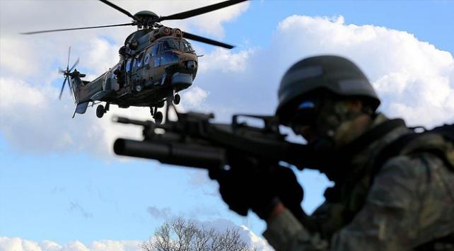 Irakın kuzeyinde 96 terörist etkisiz hale getirildi