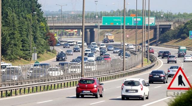 Anadolu Otoyolunda seçim trafiği