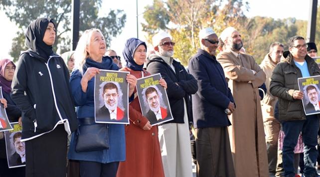 Avustralya'da Mursi gösterisi