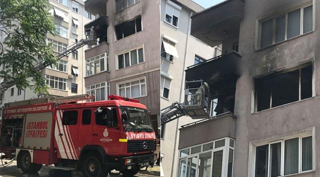 Kadıköyde çıkan yangında iki kişi hayatını kaybetti