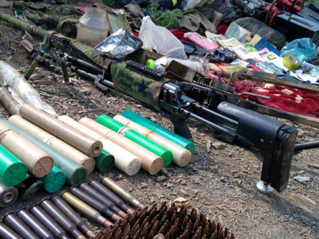 Pençe Harekatı'nda PKK'ya ait silah ve mühimmatlar ele geçirildi