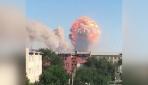 Kazakistanda orduya ait depoda art arda patlama