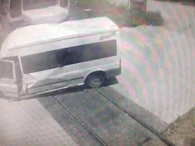 Mersin'deki tren kazası kamerada