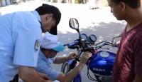 6 bin 707 motosiklet sürücüsüne cezai işlem