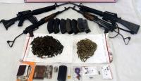 Tunceli'de etkisiz hale getirilen teröristlere ait silahlar ele geçirildi