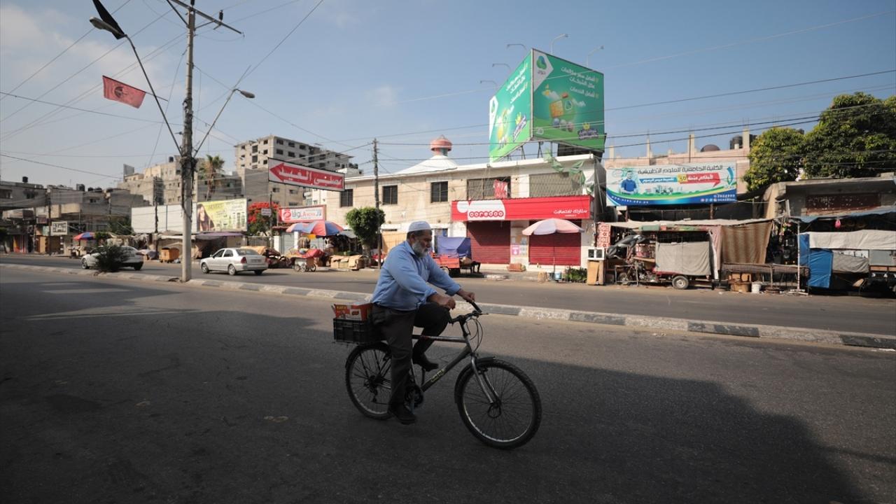 """Gazze'de """"Yüzyılın Anlaşması"""" planına karşı genel grev"""