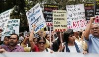 Hindistan'da Pompeo'ya karşı gösteri düzenlendi
