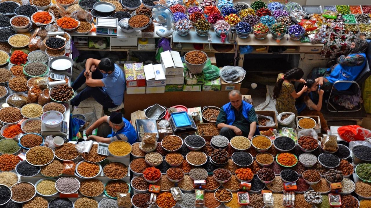 Orta Asyanın en güzel pazarı Mehrgon