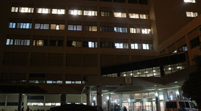 Akdeniz Üniversitesi Hastanesinde yangın