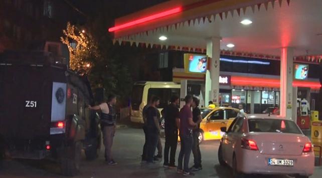 Sultangazide akaryakıt istasyonunda silahlı soygun
