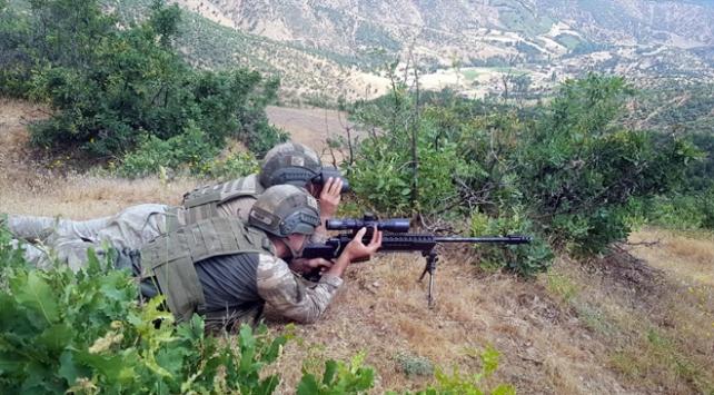 Terör örgütü PKKya darbe: 5 terörist etkisiz hale getirildi
