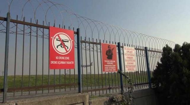 İstanbulda drone uçağın 30 metre üzerinden geçti