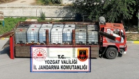 Yozgat'ta bir kamyonda 14 bin litre kaçak akaryakıt bulundu