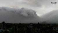 Papua Yeni Gine'de yanardağ patladı, binlerce kişi tahliye edildi
