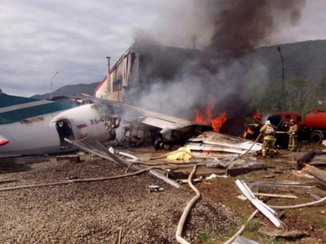 Rusya'da uçak pistten çıktı: 2 ölü, 22 yaralı