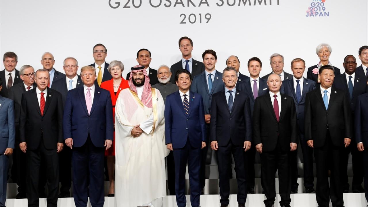 G20 Osaka Liderler Zirvesi başladı