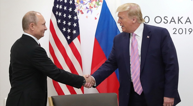 Putin, G20de Trump ile görüştü