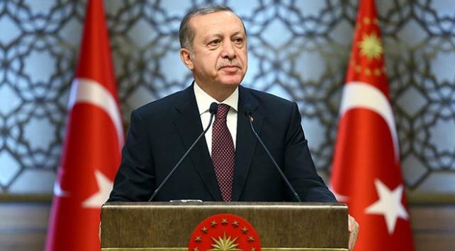 Cumhurbaşkanı Erdoğandan şehitler için başsağlığı