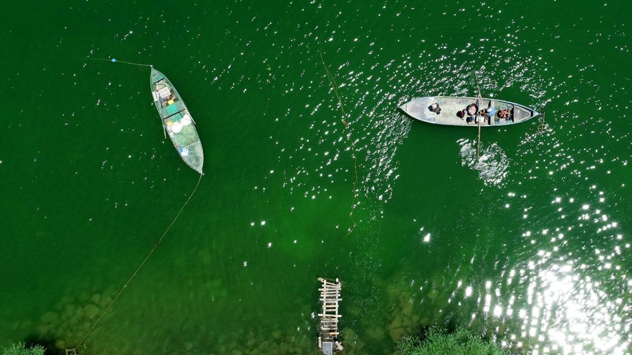 Suğla Gölünün balıkçı aileleri yeni sezondan umutlu