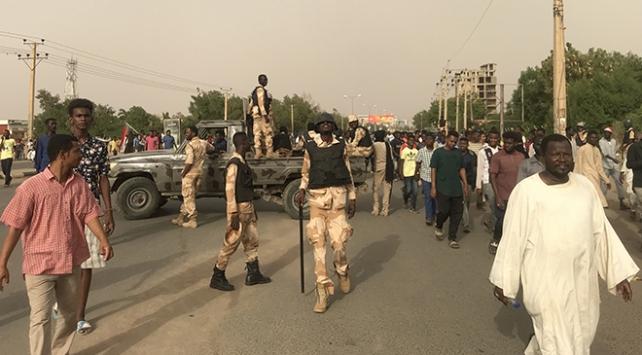 Sudandaki gösterilerde 7 kişi yaşamını yitirdi