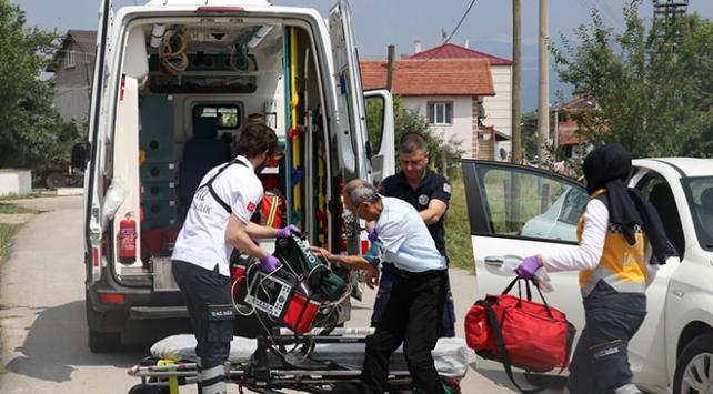 """Akıllı ambulans""lar Boluda hizmete girdi"