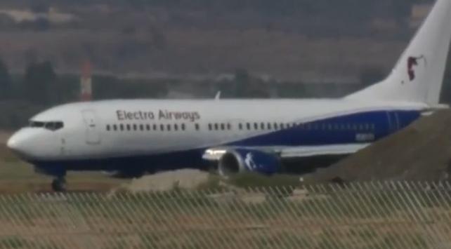 İsrailde alarm: Yolcu uçağı acil iniş yaptı