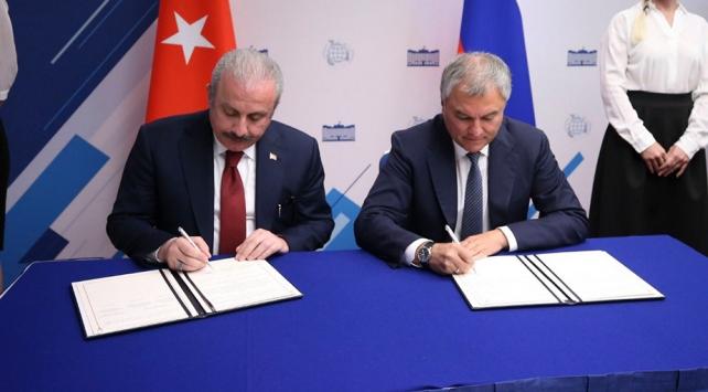 TBMM ile Rusya Parlamentosu arasında iş birliği protokolü